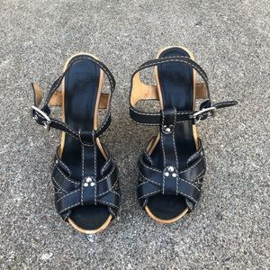 Shoes - Frye wedges sandals